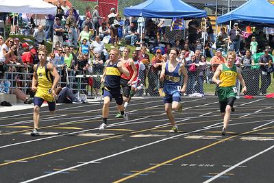 Boy's 400 Meter Run - 2012 MHSAA LP D3 T&F