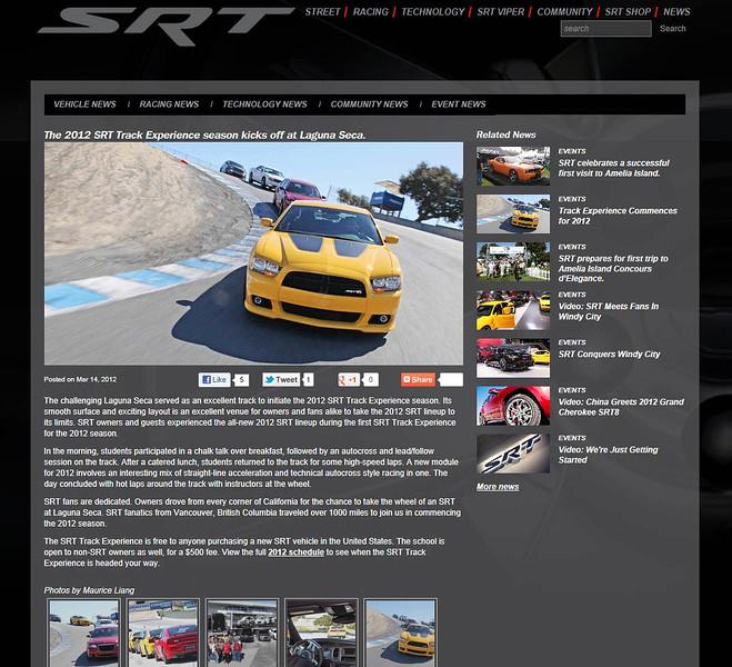 Drivesrt.com website.