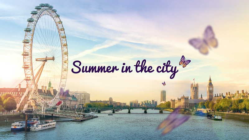 Visit London - Summer in the city