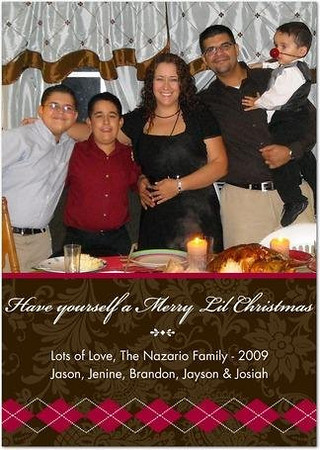 2009- Christmas & New Years w/ familia