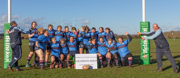 St Neots Ladies XV March 2019