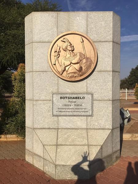 2016 - Botswana - Gaborone - Three Dikgosi Monuments