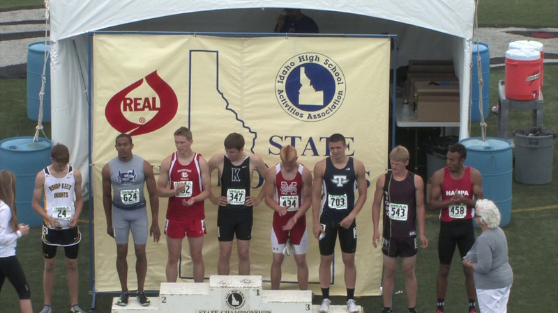 4A 400 Meter and 400 Relay Finals 2013