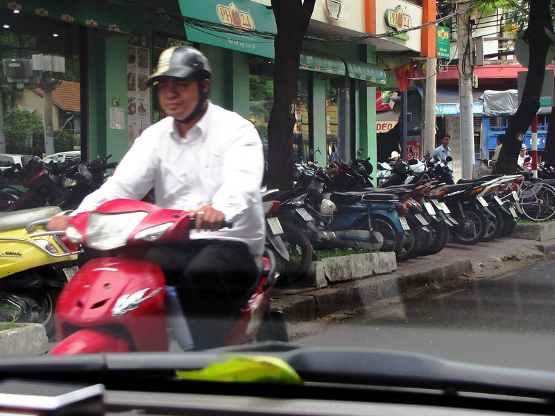 78-Motorbike parking usurps sidewalks
