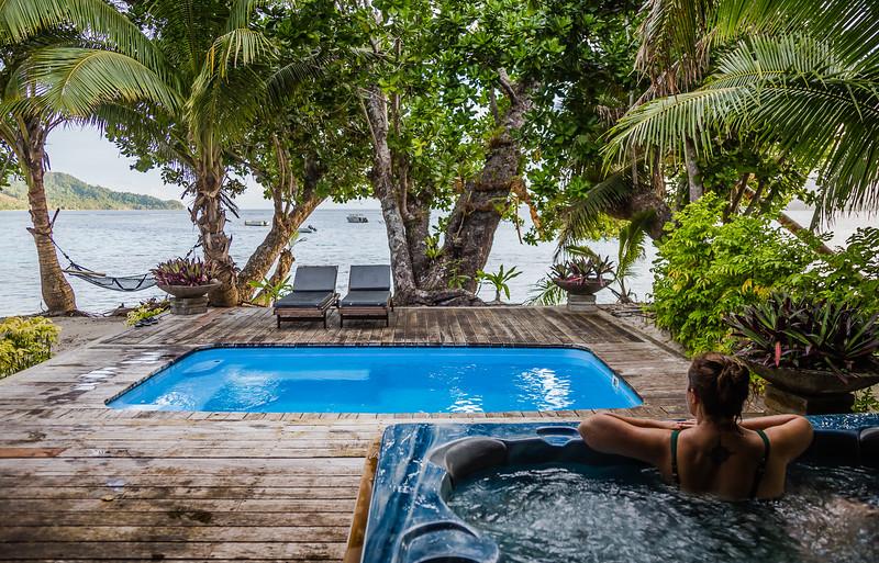 Qamea Luxury Resort in Fiji