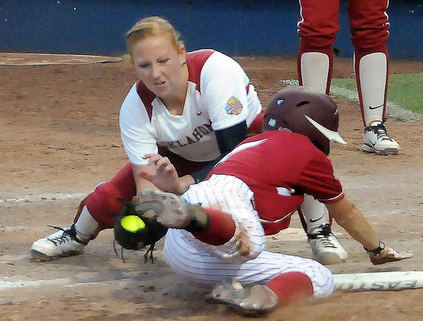 2012 WCWS OU vs Alabama Game 2