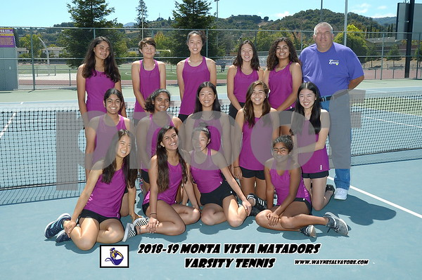 8-28-18 Monta Vista Tennis