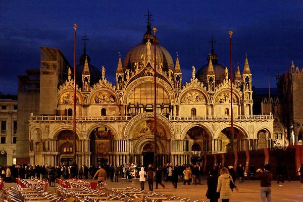 Sestiere San Marco au crepuscule