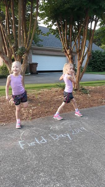2019 kindergarten field day