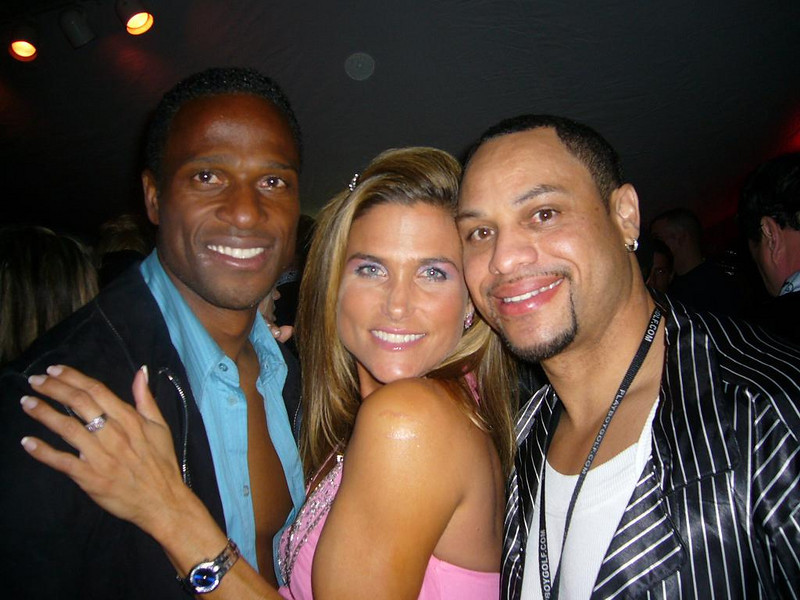 Willie Gault, Me & Anthony at Mansion.jpg
