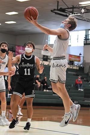 Salem Academy vs. Santiam Boys High School Basketball