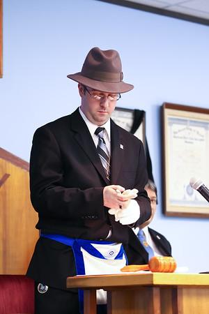 Memorial Lodge 1298 Officer Installation 2012-2013