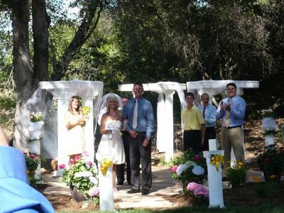 Mark and Jacqui Brunton Wedding