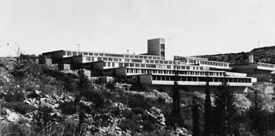 Mental Hospital Ezrat Nashim, Jerusalem - 1961