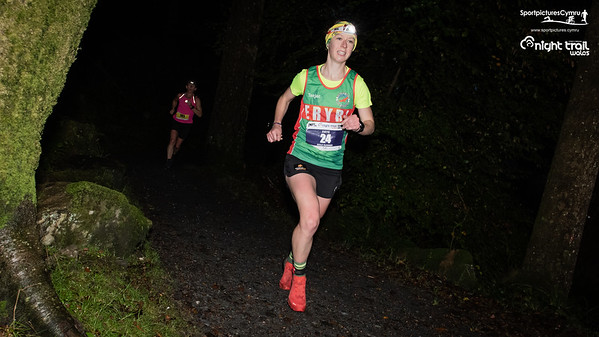 Petzl Night Trail Wales - Lap 1 and 2 - 3 and 6kM