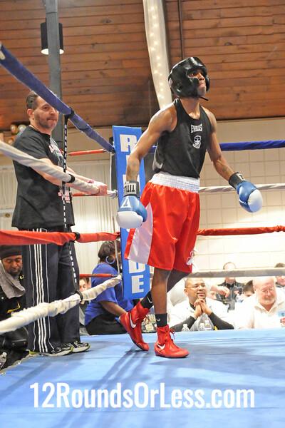Bout # 14 - MAIN EVENT - Jeramy Abrams, Cleveland -vs- PoPo Salinas, SSBC 132 lbs.