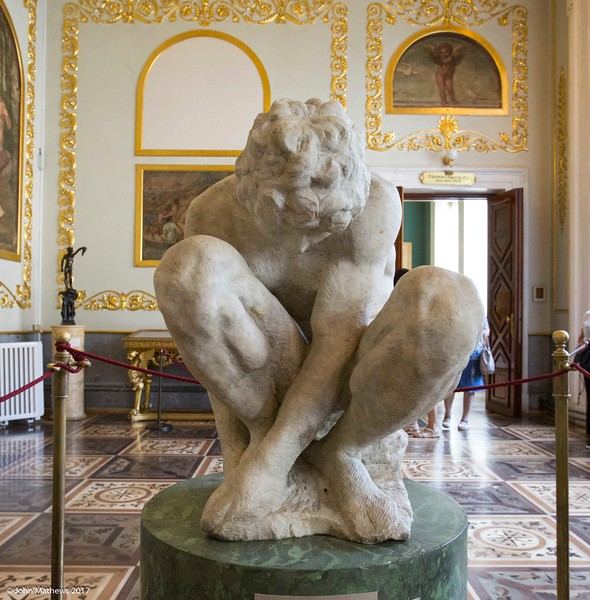 20160714 Michelangelo - The Crouching Boy at The Hermitage Museum - St Petersburg 455 a NET.jpg