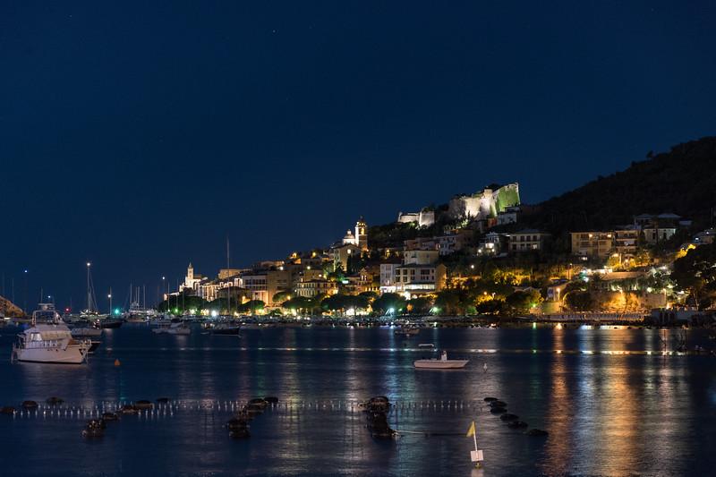 Night - Portovenere, La Spezia, Italy - August 29, 2015