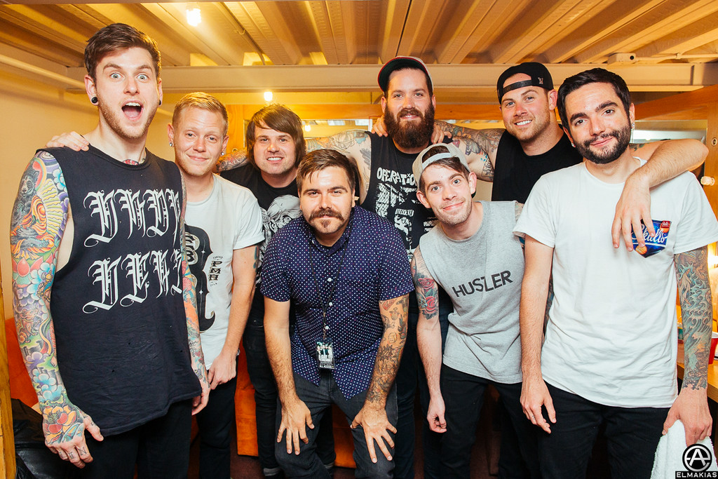 A Day To Remember with Silverstein by Adam Elmakias