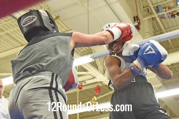 Bout 6 Takim Brown, Blue Gloves -vs- Alex Maldonado, Red Gloves, 1 Min. Rds.