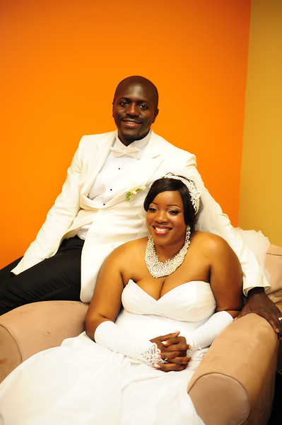 Musu and Neil Wed
