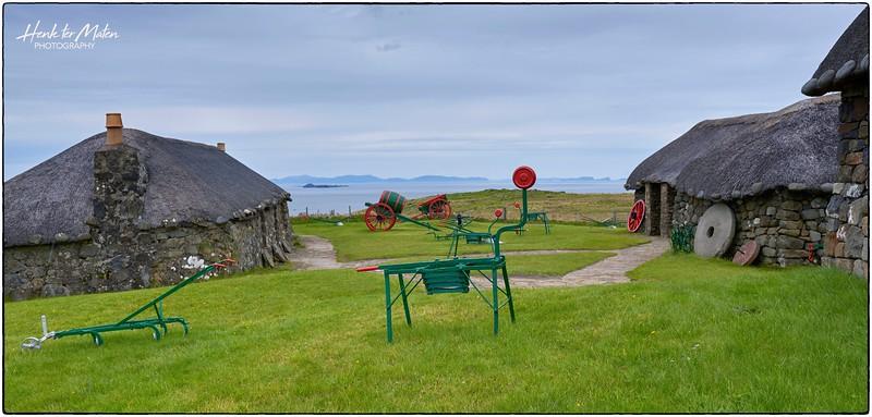 The Black House Arnol. Gearrannan Village. Carloway Broch. Callanish Standing Stones. Stornoway. Tiumpan Head. Lighthouse.