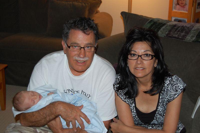 Nono and Grandma Barbara