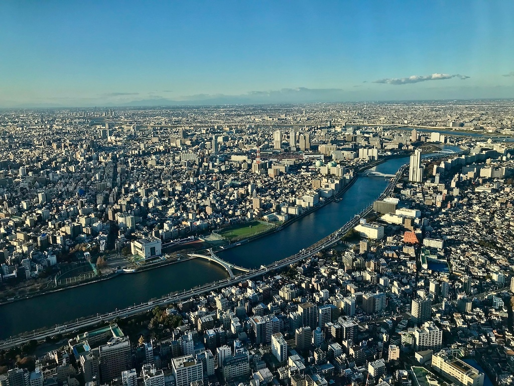 View from 350 meters at Tokyo Skytree. - image © Florentyna Leow