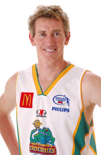 31 OCT 2006 - Blair Smith - Away playing strip - Townsville McDonald's Crocodiles players/staff photos - PHOTO: CAMERON LAIRD (Ph: 0418 238811)
