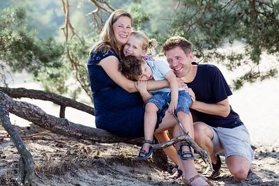 Zwangerschapsshoot met gezin | Korte duinen