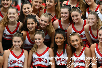 9/13/2019 Quince Orchard HS Varsity Cheerleading and Varsity Poms, Photos by Jeffrey Vogt Photography