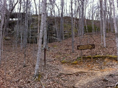 Saturday, March 23, Carter Caves