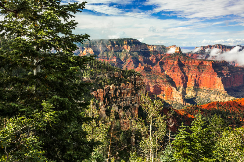 The Grand Canyon NP & Grand Escalante Staircase!  45Epic Dr. Elliot McGucken Fine Landscape and Nature Photography.  The North Rim! Cape Royale!