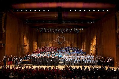 Barnardos Choir Competition 2013, The Barbican