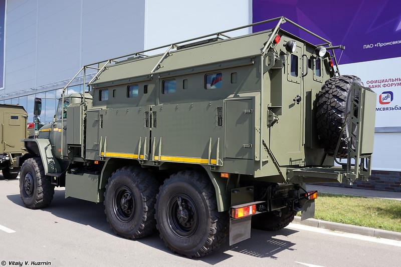 Бронеавтомобиль Урал Федерал-42590 поздняя версия (Ural Federal-42590 late variant armored vehicle)