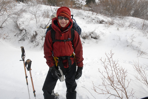 Ice Climbing, Lee Vining Cyn February 14, 2009