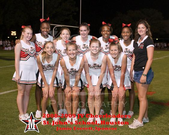 2008 JV1 SJS Cheerleader Portraits