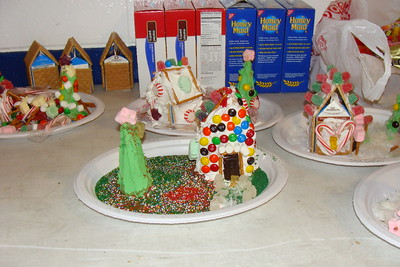 2012-12-15 Girl Scouts Gingerbread House