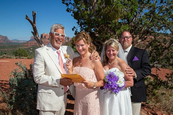 Janine & David /  Kim and Milt's Double Wedding!