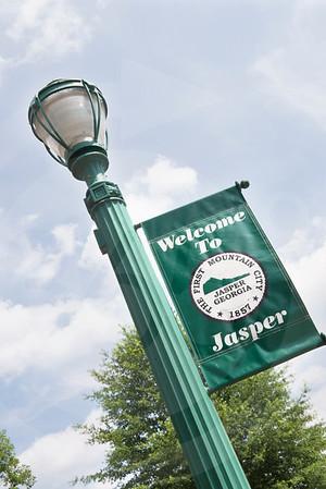 Jasper Welcome Sign