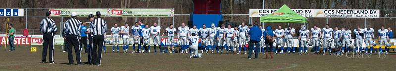 Nijmegen Pirates vs Arnhem Falcons 2013_1
