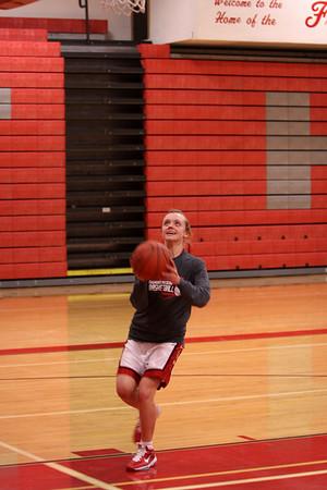 Girls JV Basketball - 2010-2011 - 2/15/2011 Ludington