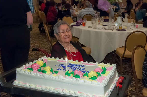 Grams 95th Birthday Party