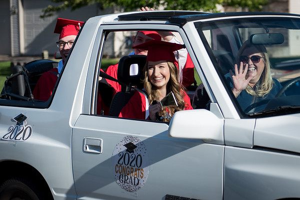 North High Grad Parade 2020