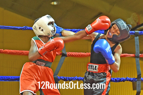 Bout 6 Marvell Billips(Red Gloves), Bar None -vs- Sage Brown(Blue Gloves), DNA Level C BC, 80 lbs, Bantam
