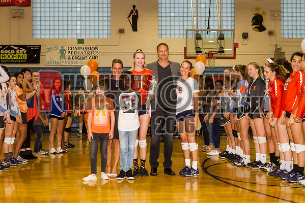 Edgewater Eagles @ Boone Braves Girls Varsity Volleyball  - 2016