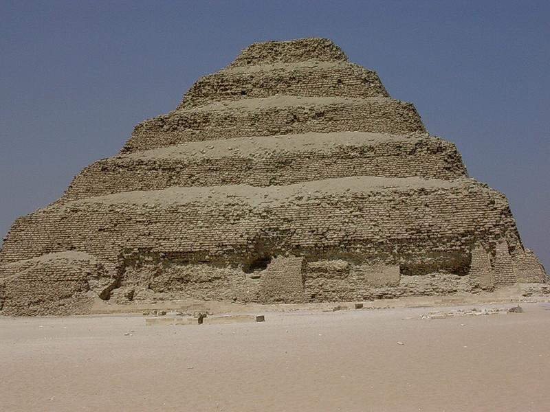 Djosers trinnpyramide (Foto: Ståle)