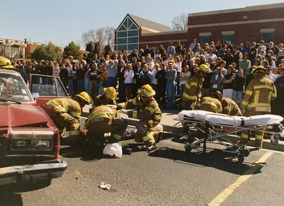 St. Mary's DUI Demonstration - March 1998
