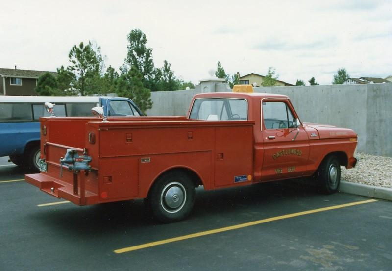 Castlewood Fleet Maintenance Truck