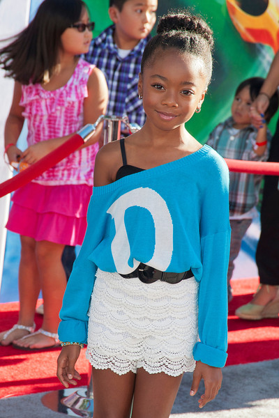 HOLLYWOOD, CA - AUGUST 05: Actress Skai Jackson arrives at the Los Angeles premiere of 'Planes' at the El Capitan Theatre on Monday August 5, 2013 in Hollywood, California. (Photo by Tom Sorensen/Moovieboy Pictures)